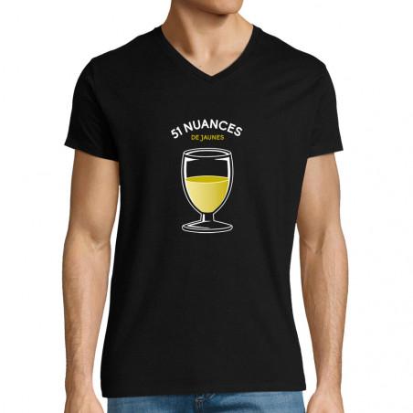 """T-shirt homme col V """"51..."""