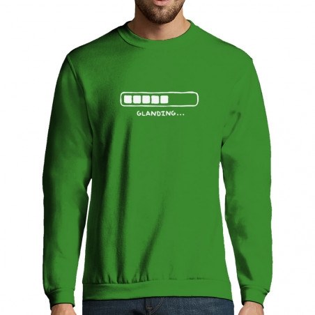 "Sweat-shirt homme ""Glanding"""