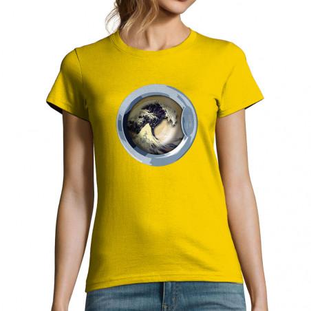 """T-shirt femme """"WaveOmatic"""""""