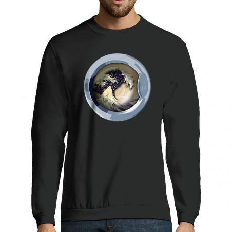 "Sweat-shirt homme ""WaveOmatic"""