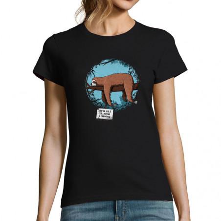 """T-shirt femme """"Encore 5..."""