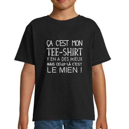 "Tee-shirt enfant ""Ca c'est..."