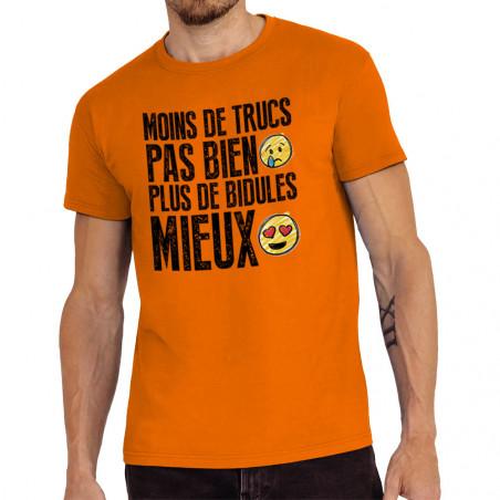 """Tee-shirt homme """"Moins de..."""