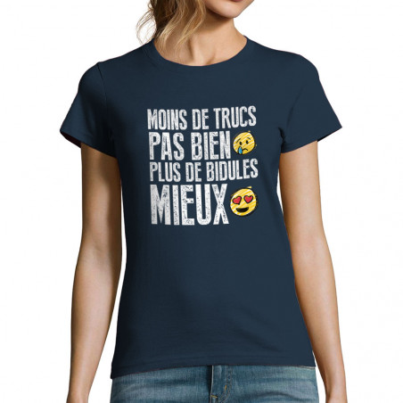 "T-shirt femme ""Moins de..."