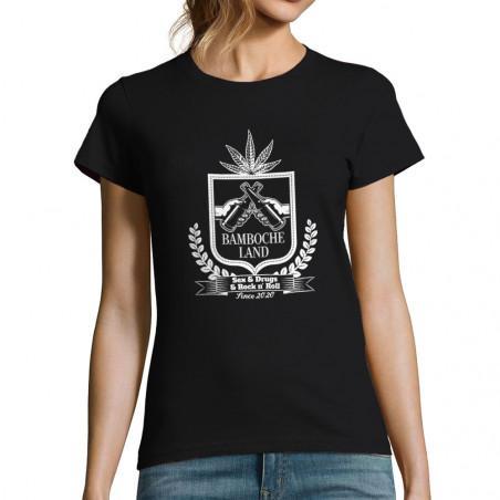 """T-shirt femme """"Bamboche Land"""""""