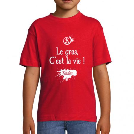 "Tee-shirt enfant ""Le gras..."