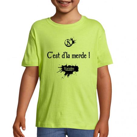 """Tee-shirt enfant """"C'est..."""