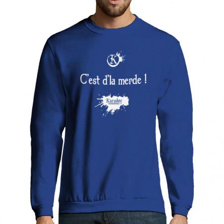 """Sweat-shirt homme """"C'est..."""