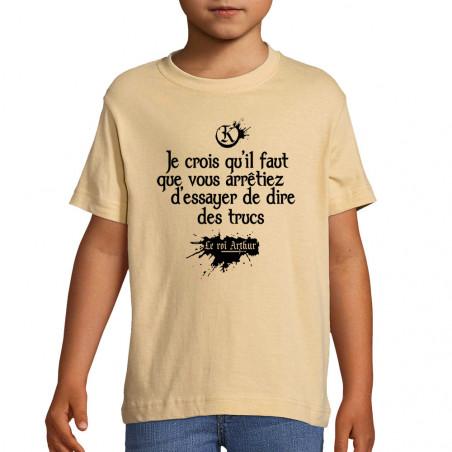 """Tee-shirt enfant """"Dire des..."""
