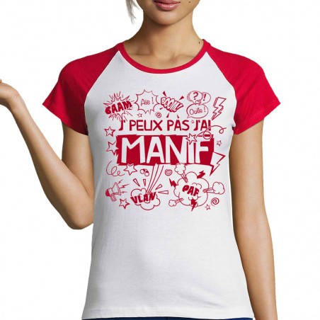 T-shirt femme raglan...