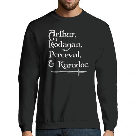 """Sweat-shirt homme """"Arthur..."""
