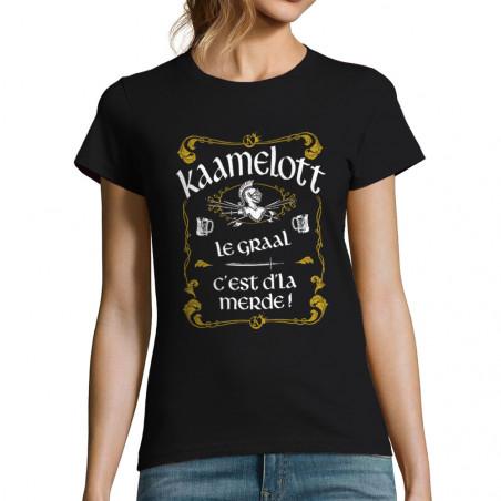 "T-shirt femme ""Kaamelott Le..."