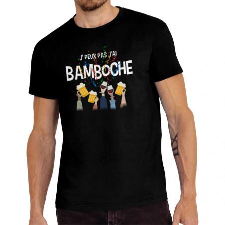 """Tee-shirt homme """"J'peux pas..."""
