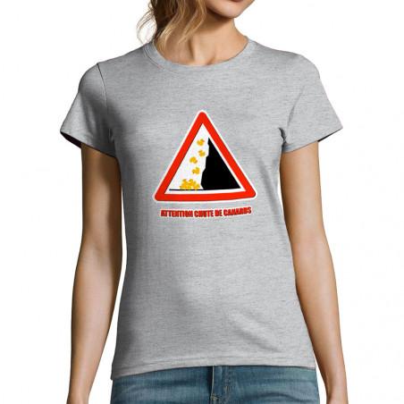 """T-shirt femme """"Chute de..."""