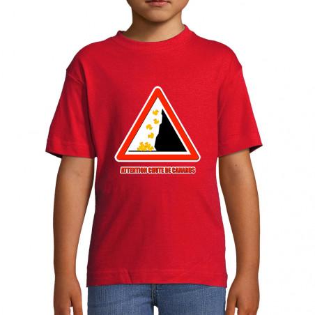 """Tee-shirt enfant """"Chute de..."""