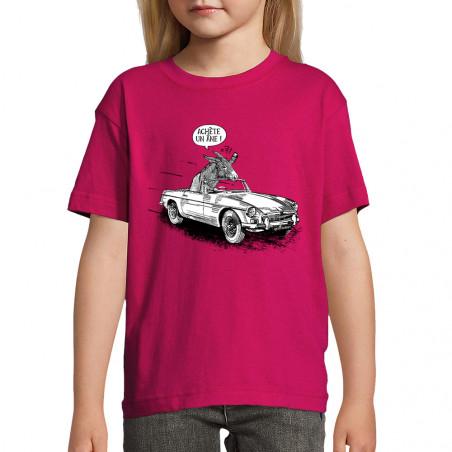 """Tee-shirt enfant """"Achète un..."""
