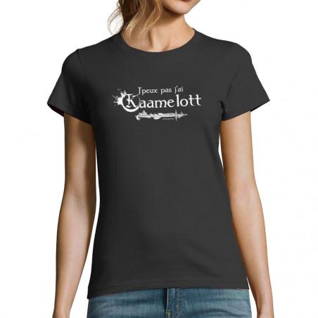 """T-shirt femme """"J'peux pas..."""