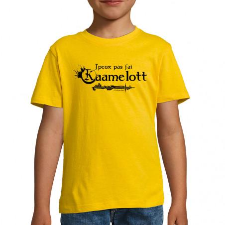 "Tee-shirt enfant ""J'peux..."