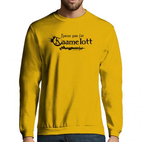 """Sweat-shirt homme """"J'peux..."""