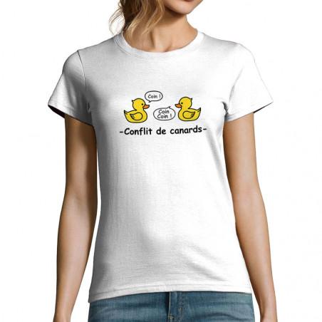 """T-shirt femme """"Conflit de..."""