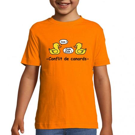 "Tee-shirt enfant ""Conflit..."