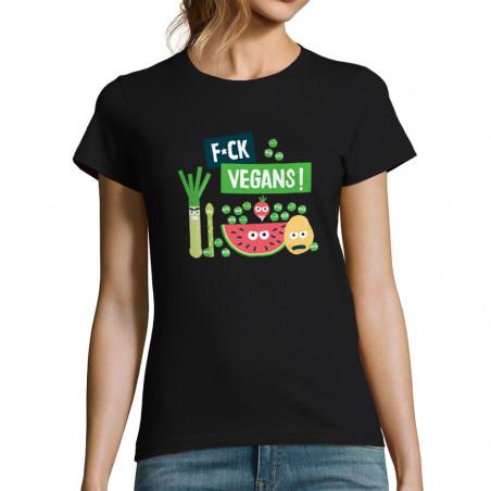 """T-shirt femme """"Fuck Vegan"""""""