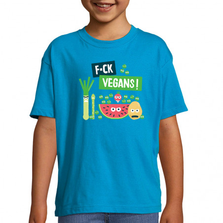 "Tee-shirt enfant ""Fuck Vegan"""