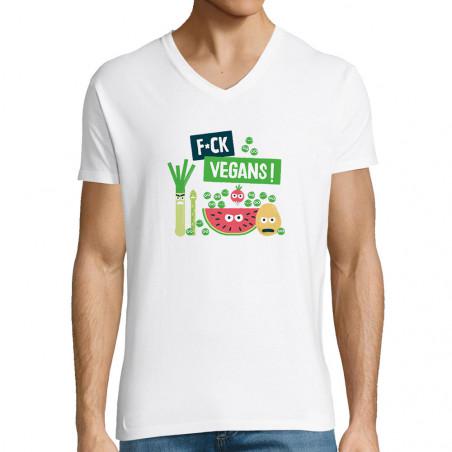 "T-shirt homme col V ""Fuck..."