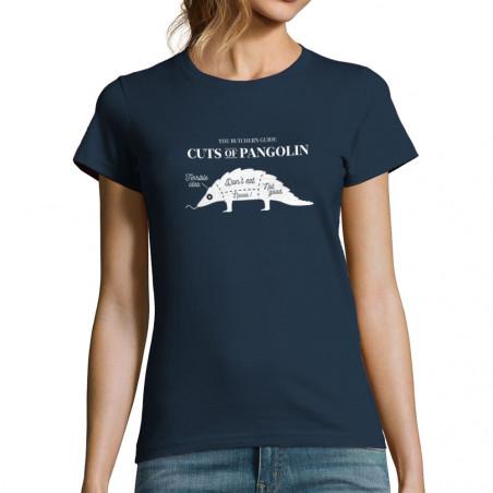 """T-shirt femme """"Pangolin"""""""