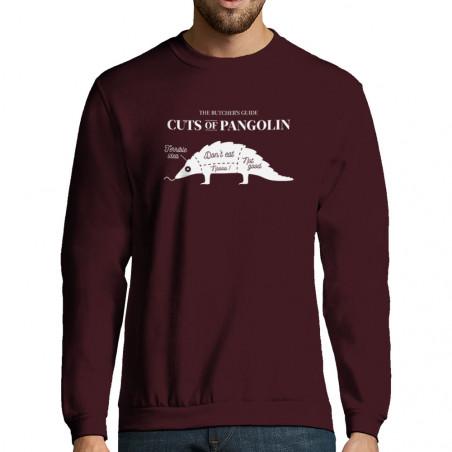 """Sweat-shirt homme """"Pangolin"""""""