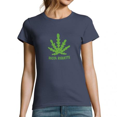 "T-shirt femme ""Rasta Roquette"""