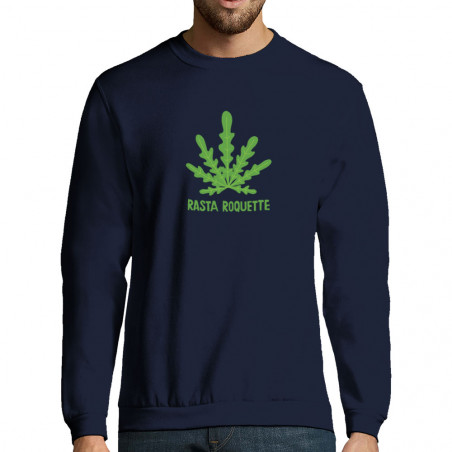 "Sweat-shirt homme ""Rasta..."
