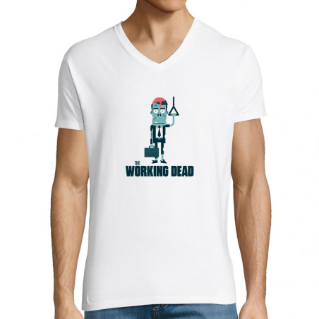"""T-shirt homme col V """"The..."""