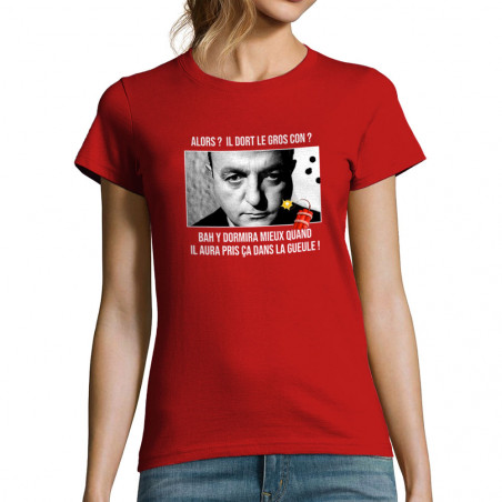 """T-shirt femme """"Il dort le..."""