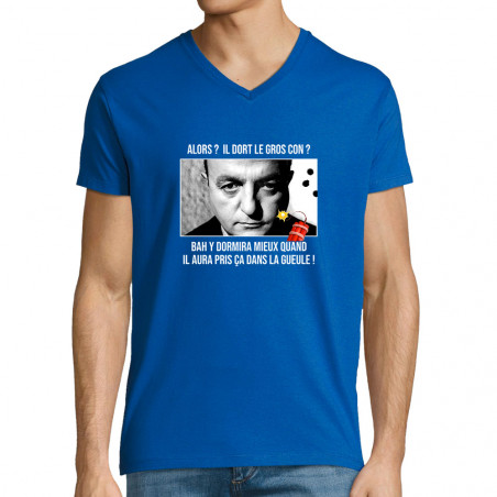 """T-shirt homme col V """"Il..."""