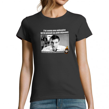 """T-shirt femme """"Une polonaise"""""""