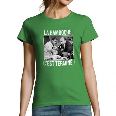 "T-shirt femme ""La bamboche..."
