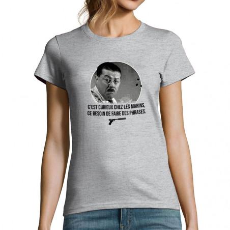 "T-shirt femme ""Les marins"""
