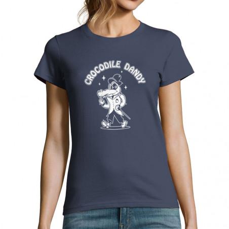 "T-shirt femme ""Crocodile..."