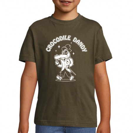 "Tee-shirt enfant ""Crocodile..."