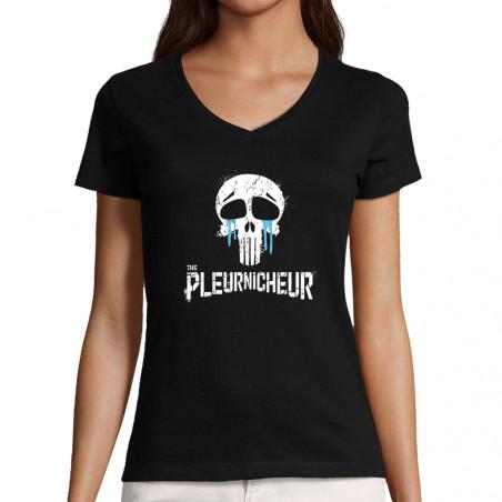 "T-shirt femme col V ""The..."