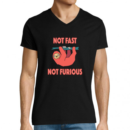 "T-shirt homme col V ""Not..."