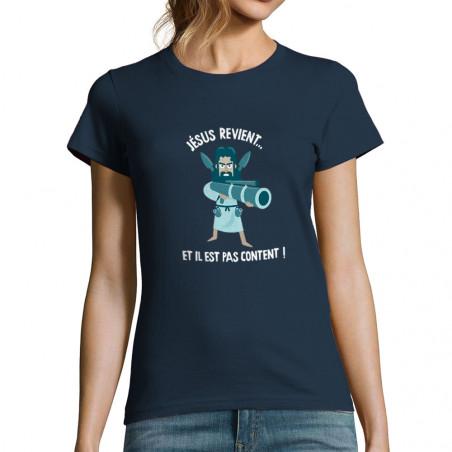 """T-shirt femme """"Jésus revient"""""""