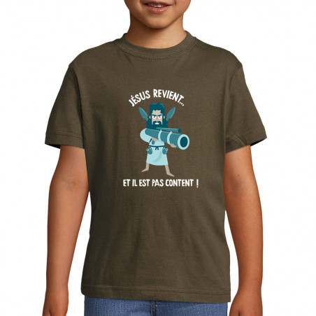 "Tee-shirt enfant ""Jésus..."