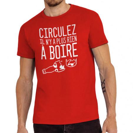 """Tee-shirt homme """"Plus rien..."""
