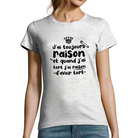 """T-shirt femme """"Toujours..."""