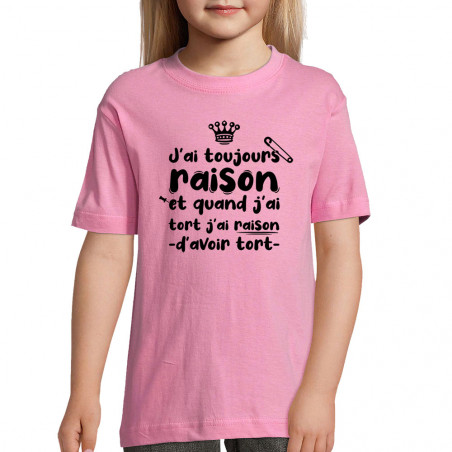 "Tee-shirt enfant ""Toujours..."