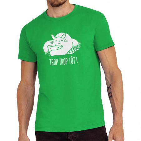 """Tee-shirt homme """"Trop trop..."""