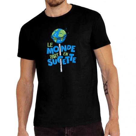 "Tee-shirt homme ""Le monde..."