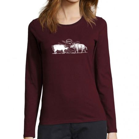 T-shirt femme manches...